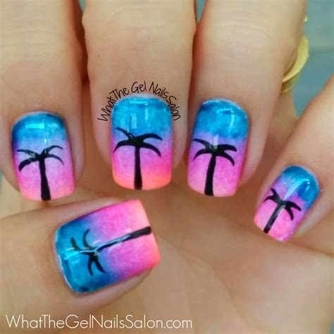 Gel Nail Salon by 12 Summer Nail Designs From What The Gel Nails Salon