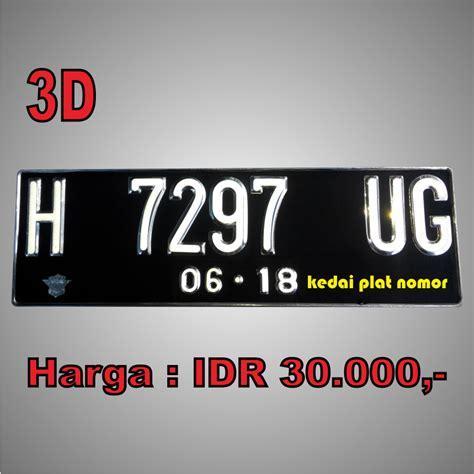 Harga Dudukan Spanduk by Plat Nomor Variasi 3d Cutting Sticker Kedai Plat Nomor
