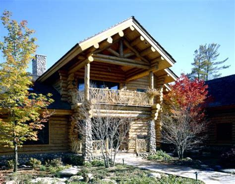 Eagles Nest Log Cabin by Eagle S Nest Custom Handcrafted Log Homes By Maple