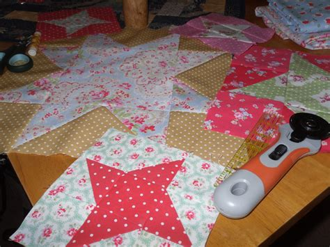Patchwork Classes - daisy236 in preparation for next week s patchwork class
