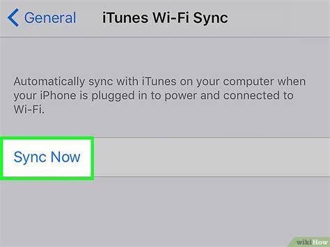 cara membuat jaringan wifi di iphone cara melakukan sinkronisasi iphone dengan itunes wikihow