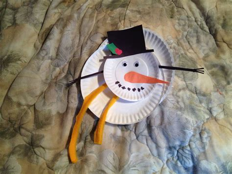 snowman crafts for second graders