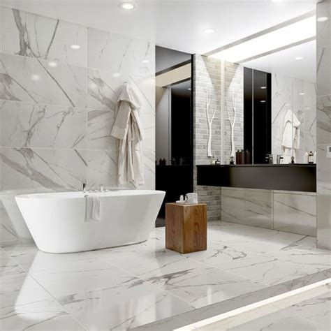 bagno marmo bagni in marmo bianco 20 idee per arredi di lusso