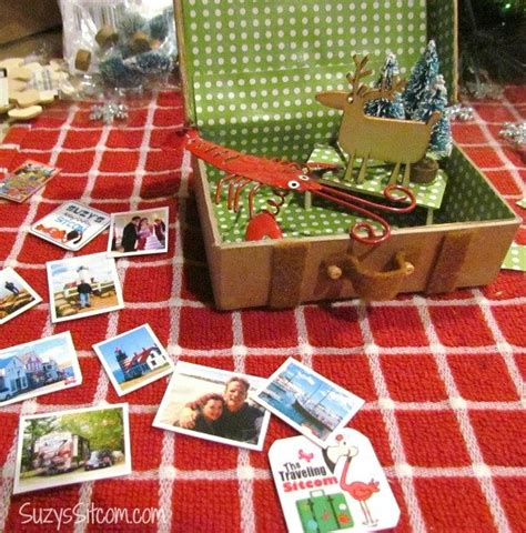 Diy Miniatur Papercraft Gedung Ncpa diy miniature suitcase ornaments for your christmastree hometalk