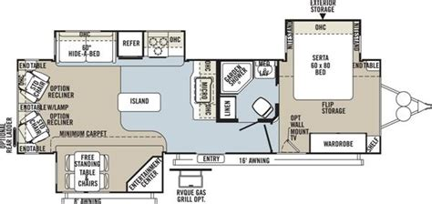 rockwood travel trailers floor plans 2013 forest river rockwood signature ultra lite 8329ss