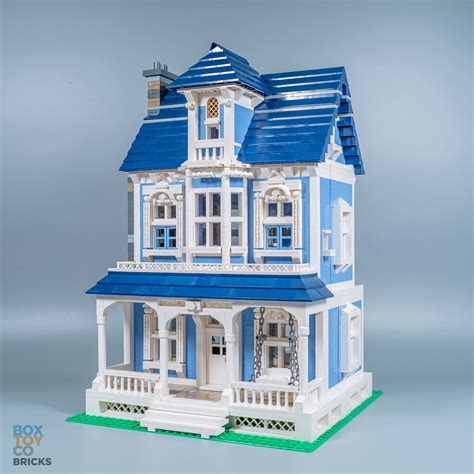how to build a victorian house lego moc victorian house boxtoy co