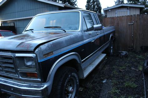 how cars engines work 1985 ford f series navigation system 1985 ford f250 4x4 ext cab lariat loaded parts or rebuild engine for sale ford f 250 1985