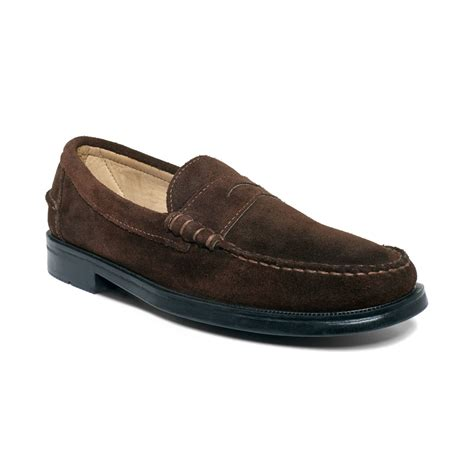 beef roll loafer sebago grant beef roll loafers in brown for