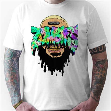 Zombies Flatbush Logo T Shirt flatbush zombies slime with juice unisex from redbubble