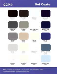 coat colors stuart marine corp gel coat colors
