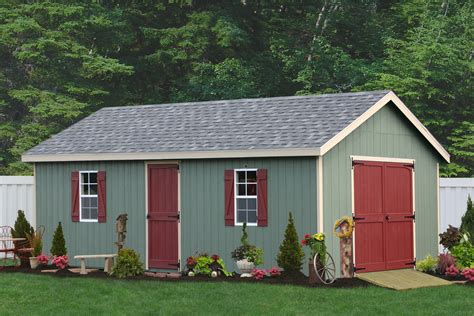 large storage sheds for sale from the amish in pa sheds