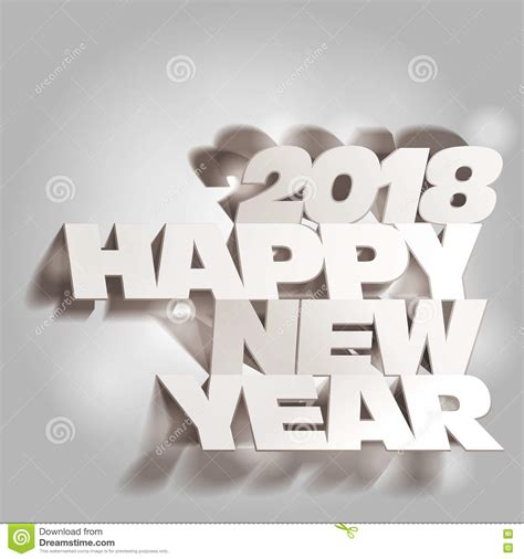 New Year Paper Folding - new year 2018 stock photography cartoondealer 79939820