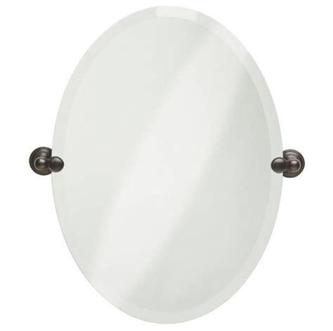 oval tilting bathroom mirror oval tilting frameless bathroom mirror beveled edges