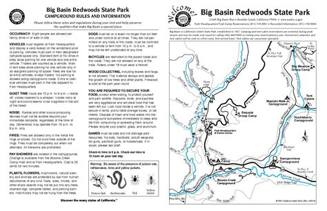 missouri cing map big basin redwoods state park cabins tularosa basin 2017