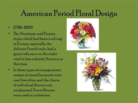 flower design history ppt the history of floral design powerpoint presentation