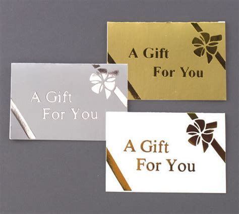 Are Gift Cards Subject To Sales Tax - folding gift cards the packaging source