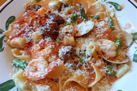 tri colored vegetable penne finding new favorites with olive garden s new menu a