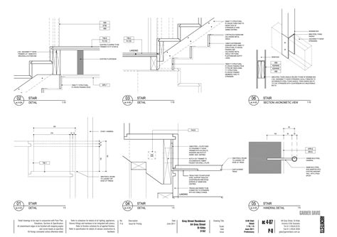 section drawing of staircase detail section of staircase images