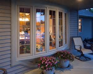 Bow Vs Bay Window bow window by simonton windows