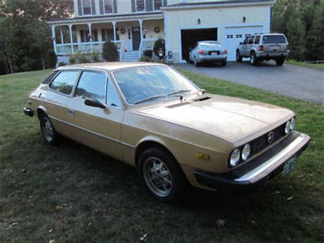 Lancia Beta Hpe For Sale Just A Car 1977 Lancia Beta Hpe
