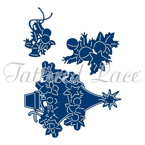 tattered lace the magic of christmas tree clear sts