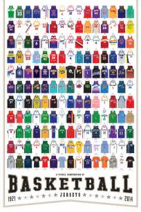 basketball team colors infographic 165 killer basketball jerseys co design