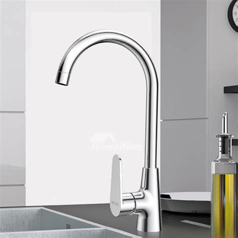 cheap kitchen faucet cheap kitchen faucets gooseneck silver brass single handle