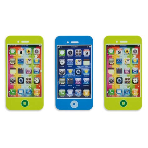 mobile phone set set of 3 mobile phone erasers