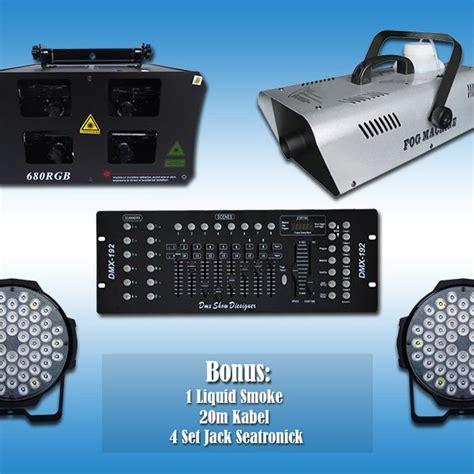 Paket Lu 2 Par 54 Led Rgbw Mixer Dmx 512 1 paket lighting led ekonomis 4 ver 2