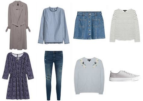capsule wardrobe 2017 essentials checklist for every