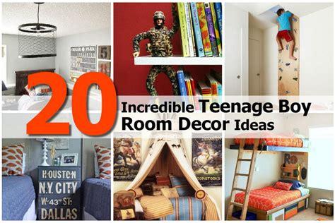 teen boy room decor 20 incredible teenage boy room decor ideas