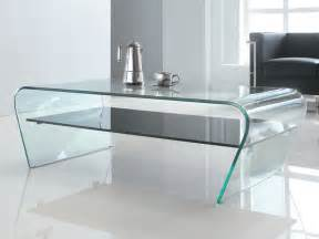 table basse verre tremp 233 tablette laqu 233 e