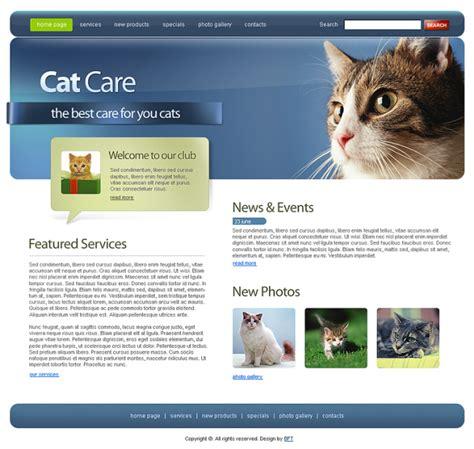 15 Free Premium Animals Pets Html Templates Animal Website Templates