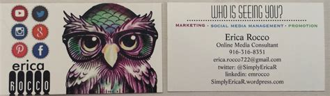 personal business cards for networking viewing gallery