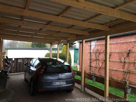 carport grenzbebauung neues carport gt versiegeln streichen haltbar machen