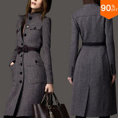 design winter clothes 2016 coat wool long coat winter clothes free shipping