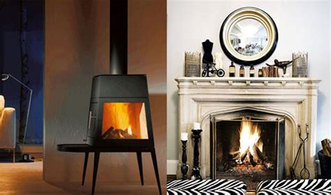 wood stoves vs fireplaces apartment therapy