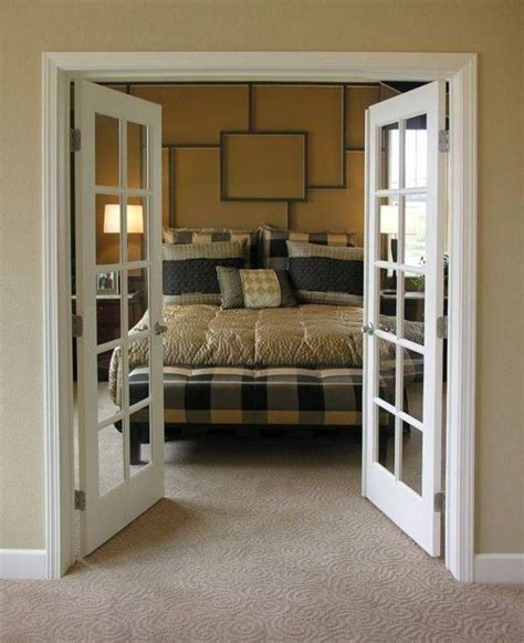 bedroom french doors interior 1000 ideas about interior french doors on pinterest