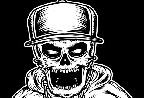 Imagenes De Calaveras Hip Hop | the world s best photos of rap and skeleton flickr hive mind