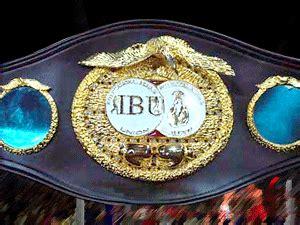 belt ibu boxing