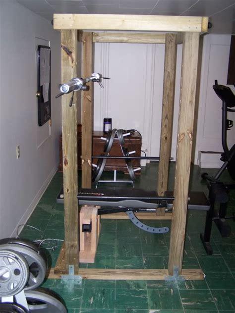 4x4 power rack