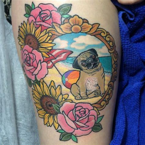 pug tattoo pinterest simone clare hede pug tattoo tattoos pinterest pug