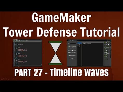 tutorial construct 2 tower defense gamemaker tower defense tutorial part 27 make waves