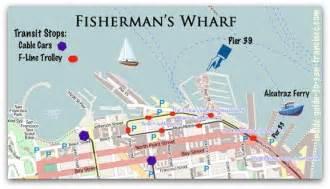 san francisco map fishermans wharf san francisco maps