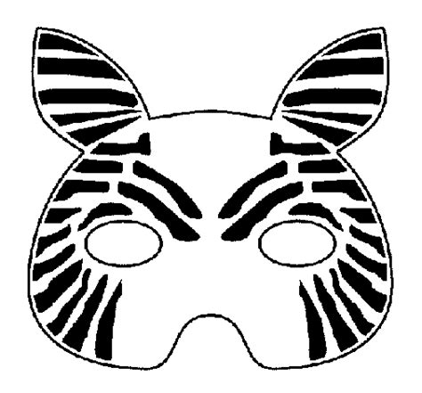 free printable zebra mask template coloring pages of pj masks tv show coloring pages