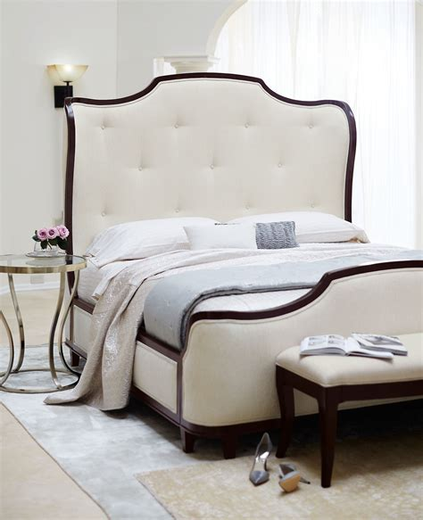 bernhardt salon bed upholstered panel bed bernhardt