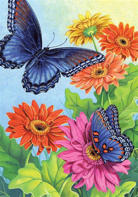wallpaper bunga dan kupu kupu lukisan kupu kupu dan bunga www imgkid com the image