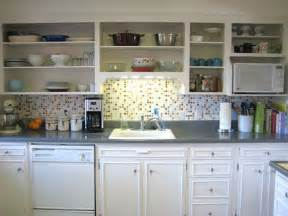 Kitchen Cabinets Without Doors interesting decisions kitchen cabinets without doors