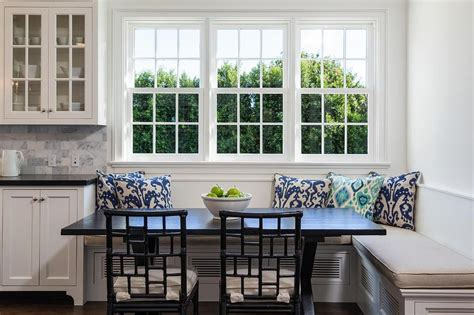 Window Seat Dining Table Image Gallery L Shaped Banquette