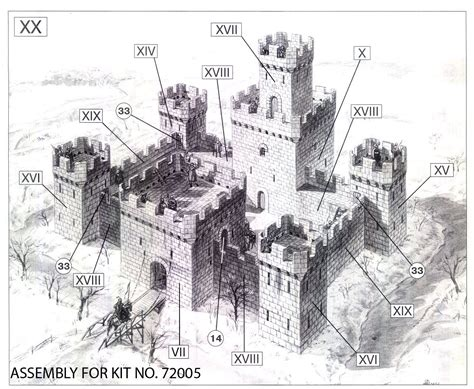 Harlech Castle Floor Plan by Medieval Castle Designs Www Imgkid Com The Image Kid
